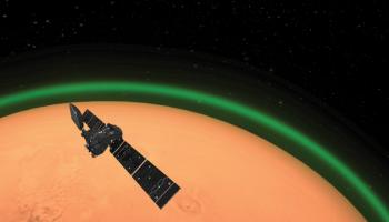 Airglow on Mars seen by TGO